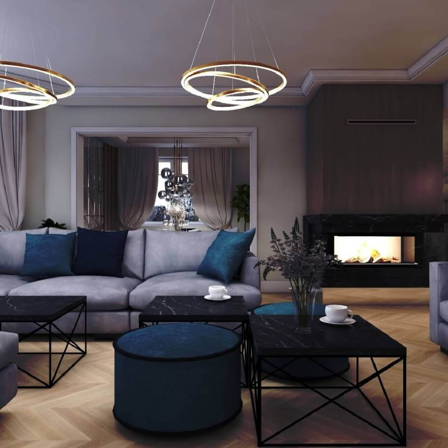 Projektowanie wnętrz przez Fjord Estate